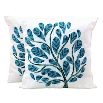 Bourgeois Tree of Life 100% Cotton Pillow Cover