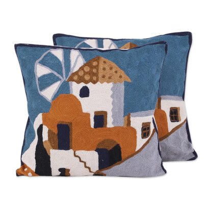 Bouley House of the Lords 100% Cotton Pillow Cover