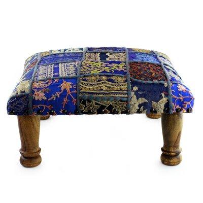 Paisley Patch Ottoman