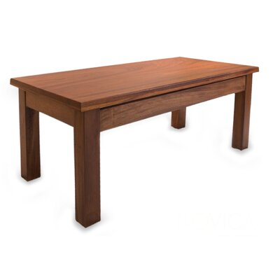 Scottville Parota Wood Coffee Table