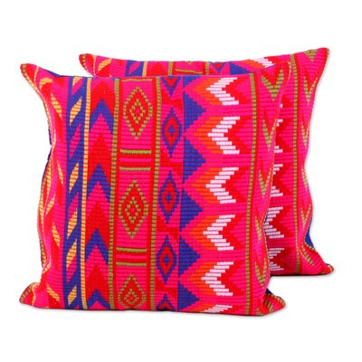 Bonomo Geometric Fascination 100% Cotton Pillow Cover