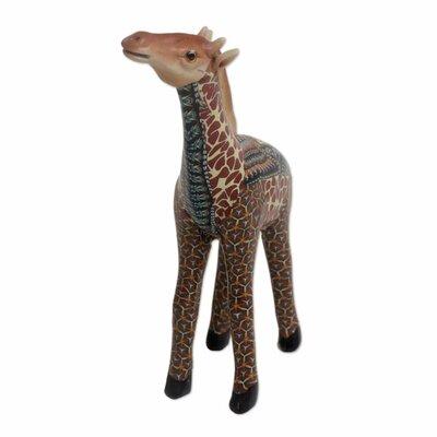 Claireville Vibrant Giraffe Figurine AB6973ADEB064355BEA26003D5997D7F
