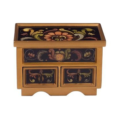 Pentillie Painted Gass Renaissance 2 Drawer Chest 6E4CAC85F0ED444AB92F00A51502DDD0