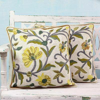 Pennypacker Royal Indian Peony 100% Cotton Pillow Cover