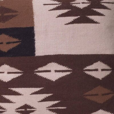 Starlight on Earth Handmade Geometric Alpaca Pillow Cover