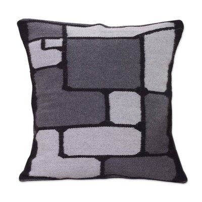 Peruvian Geometric Alpaca Pillow Cover