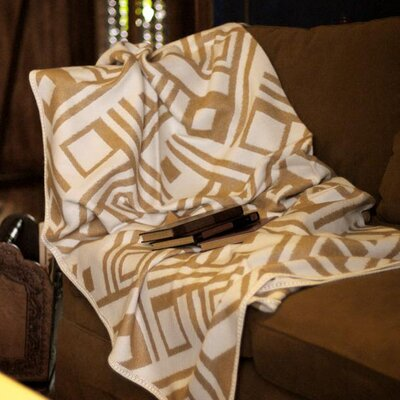 Labyrinths Throw Blanket