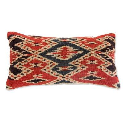 The Threads of Life Cotton Throw Pillow