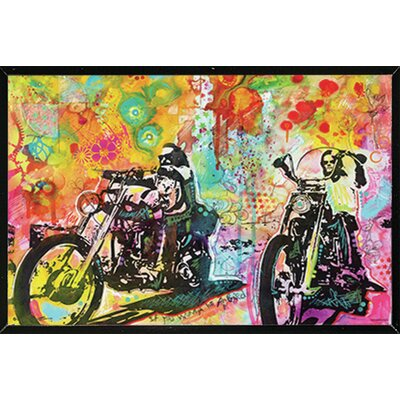 'Easy Rider' by Dean Russo Framed Graphic Art Print Poster
