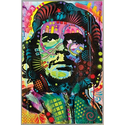 'Che Guevara' Metal Framed Graphic Art Print Poster