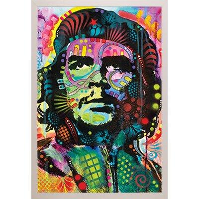 'Che Guevara' Vertical Framed Graphic Art Print Poster Format: White Framed