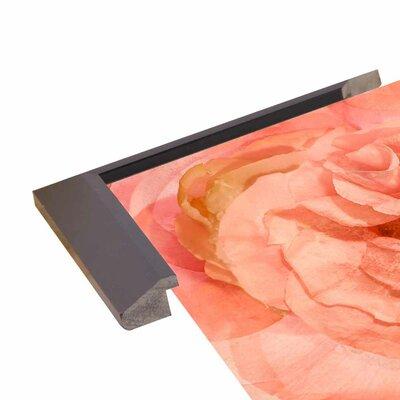 'Rosa Cuadrada' Graphic Art Print Format: Budget Saver Framed Paper, Size: 18.7