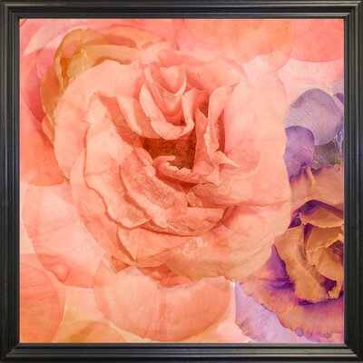 'Rosa Cuadrada' Graphic Art Print Format: Black Grande Framed Paper, Size: 18.7