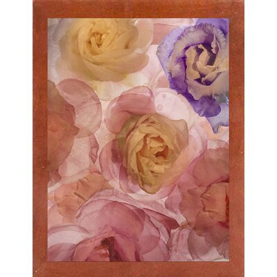 'Rosas Compo 2' Graphic Art Print Format: Affordable Canadian Walnut Medium Framed Paper