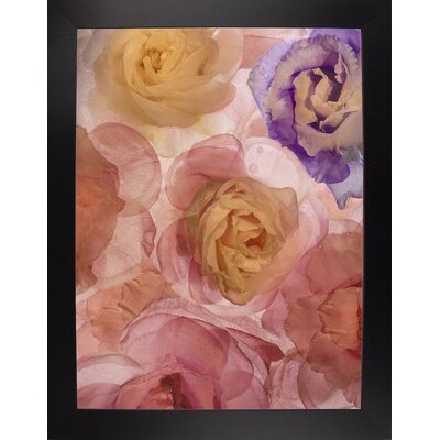 'Rosas Compo 2' Graphic Art Print Format: Affordable Black Large Framed Paper