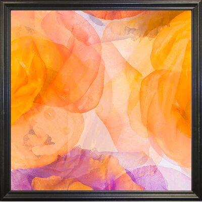 'Rosas Compo 5' Graphic Art Print Format: Black Grande Framed Paper, Size: 12.6