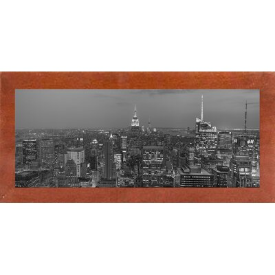 'Gotham City 8' Photographic Print Format: Affordable Canadian Walnut Medium Framed Paper