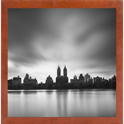 'Gotham City 12' Photographic Print Format: Affordable Canadian Walnut Medium Framed Paper