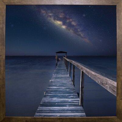 'Milky Way Format: Cafe Mocha Framed Paper, Size: 35.4