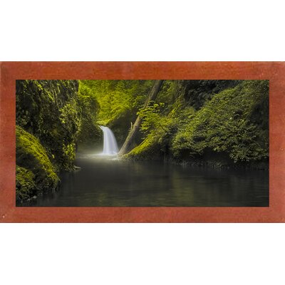 'Hope' Photographic Print Format: Affordable Canadian Walnut Medium Framed Paper, Size: 22.5