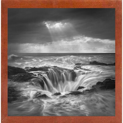 'The Hole 2' Graphic Art Print Format: Affordable Canadian Walnut Medium Framed Paper, Size: 35.4