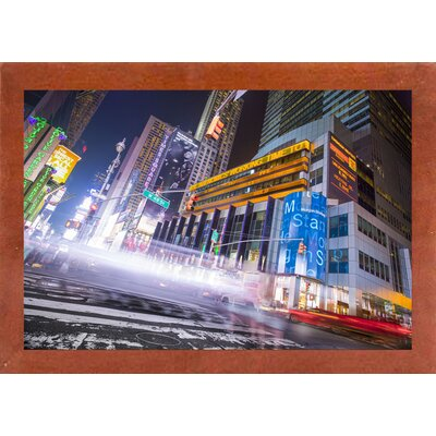 'City' Photographic Print Format: Affordable Canadian Walnut Medium Framed Paper, Size: 28.3