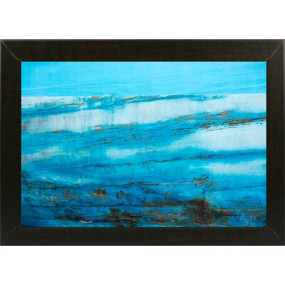'Ship Textures 4' Graphic Art Print Format: Affordable Brazilian Walnut Medium Framed Paper, Size: 28.3