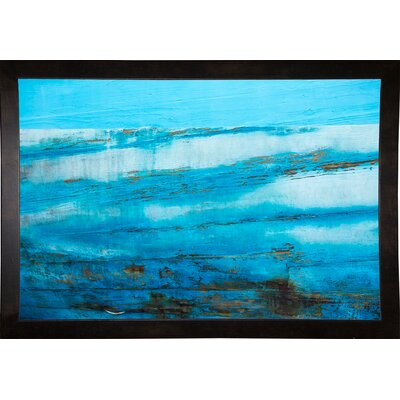 'Ship Textures 4' Graphic Art Print Format: Cafe Espresso Framed Paper, Size: 28.3