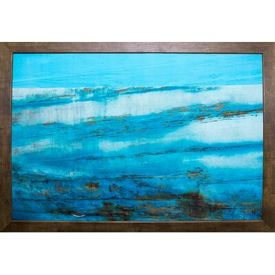 'Ship Textures 4' Graphic Art Print Format: Cafe Mocha Framed Paper, Size: 28.3