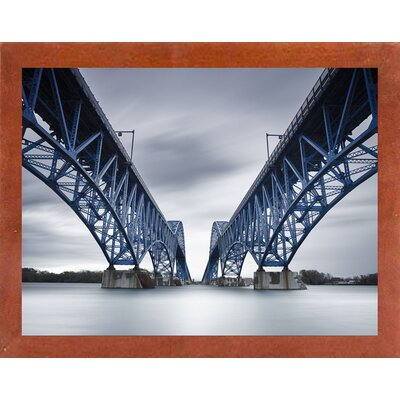 'Gemelos' Photographic Print Format: Affordable Canadian Walnut Medium Framed Paper