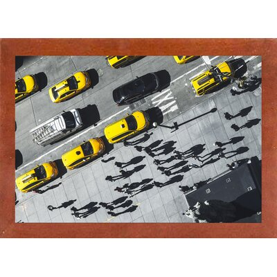 'Shadows' Photographic Print Format: Affordable Canadian Walnut Medium Framed Paper