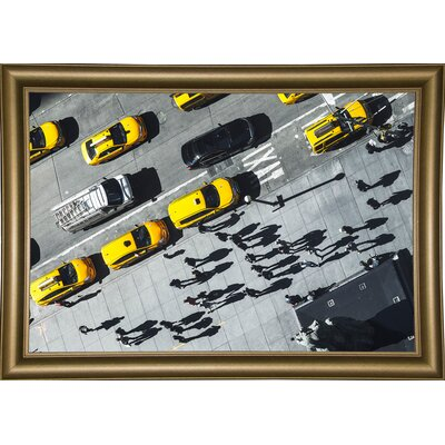'Shadows' Photographic Print Format: Bistro Gold Framed Paper