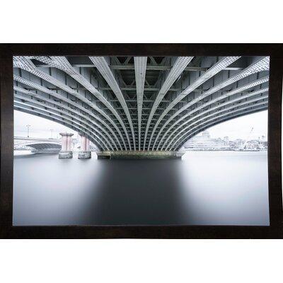 'Under 2' Photographic Print Format: Affordable Black Medium Framed Paper, Size: 22