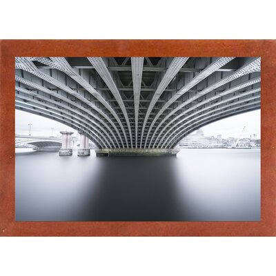 'Under 2' Photographic Print Format: Affordable Canadian Walnut Medium Framed Paper, Size: 22