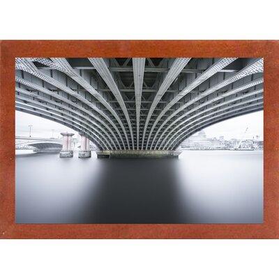 'Under 2' Photographic Print Format: Affordable Canadian Walnut Medium Framed Paper, Size: 22