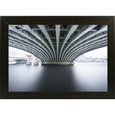 'Under 2' Photographic Print Format: Affordable Brazilian Walnut Medium Framed Paper, Size: 22