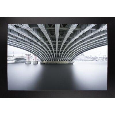 'Under 2' Photographic Print Format: Affordable Black Large Framed Paper, Size: 22