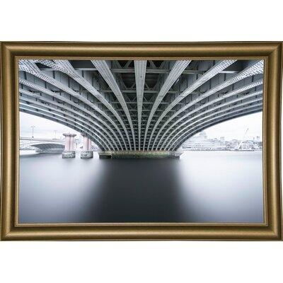 'Under 2' Photographic Print Format: Bistro Gold Framed Paper, Size: 22