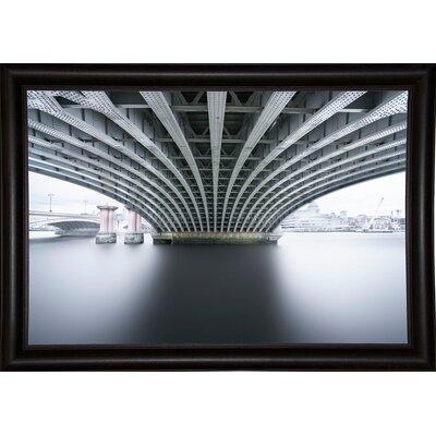 'Under 2' Photographic Print Format: Bistro Espresso Framed Paper, Size: 22