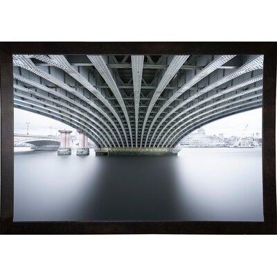 'Under 2' Photographic Print Format: Cafe Espresso Framed Paper, Size: 22