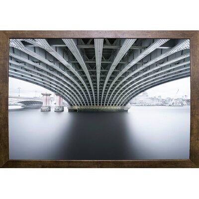 'Under 2' Photographic Print Format: Cafe Mocha Framed Paper, Size: 22