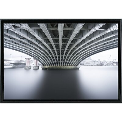 'Under 2' Photographic Print Format: Shiny Black Metal Framed Paper, Size: 22