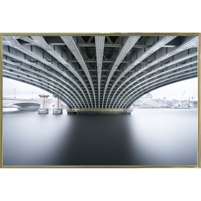 'Under 2' Photographic Print Format: Gold Metal Framed Paper, Size: 22