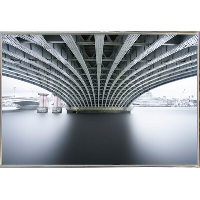 'Under 2' Photographic Print Format: Silver Metal Framed Paper, Size: 22