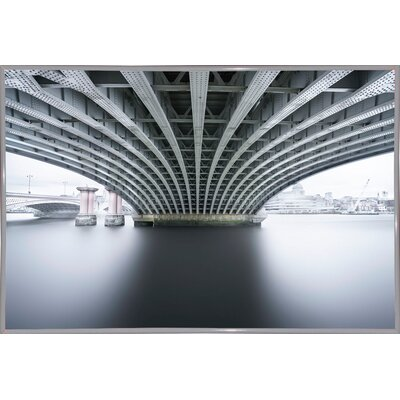 'Under 2' Photographic Print Format: White Metal Framed Paper, Size: 22