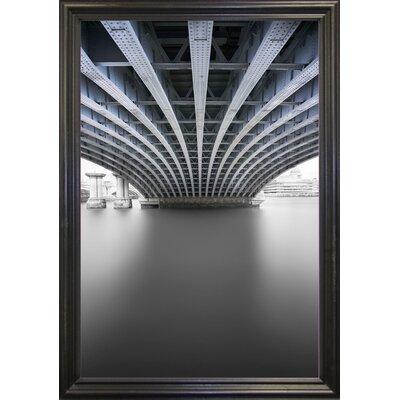 'Under' Graphic Art Print Format: Black Grande Framed Paper, Size: 33.1