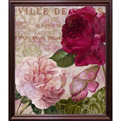 'February' Graphic Art Print Format: Cherry Grande Framed Paper