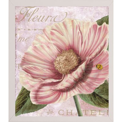 'April' Graphic Art Print Format: Affordable White Medium Framed Paper