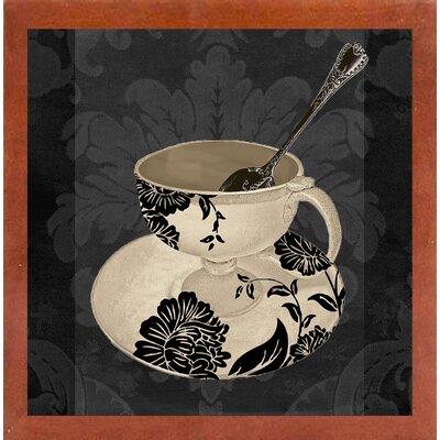 'Vintage Cafe II' Graphic Art Print Format: Affordable Canadian Walnut Medium Framed Paper