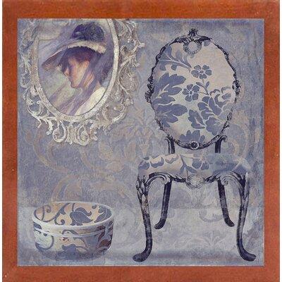 'Salon I' Graphic Art Print Format: Affordable Canadian Walnut Medium Framed Paper